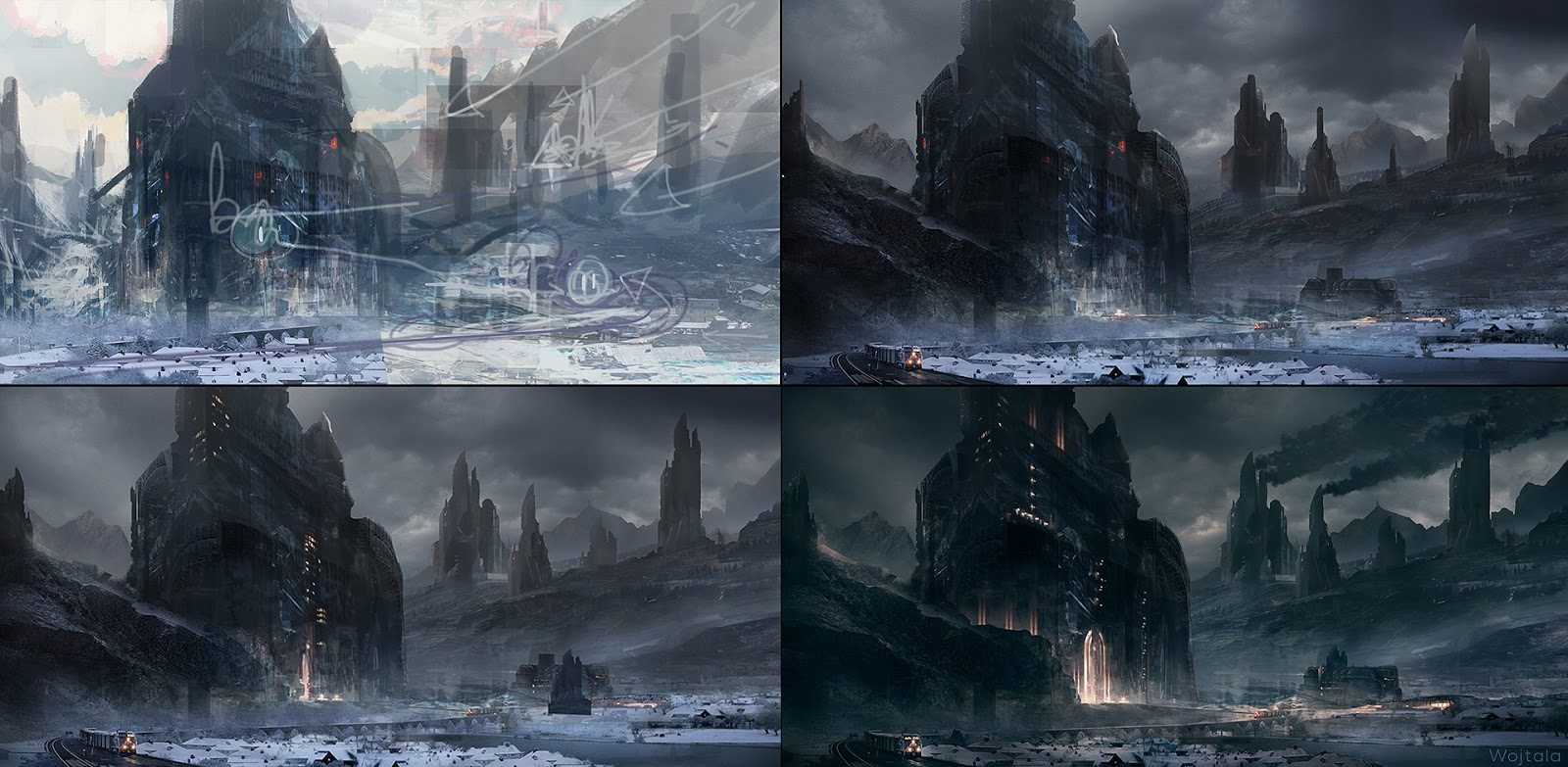 Image Gallery evil fortress