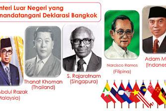 Deklarasi Bangkok ASEAN: Hasil, Tujuan, Isi, Sejarah, Tokoh dan Penandatanganan