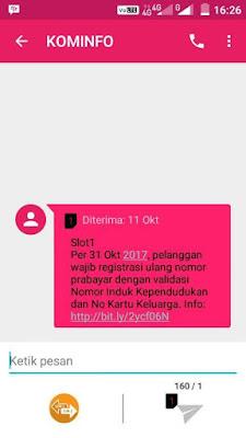 Cara Registrasi Kartu Telkomsel dan Lainnya dengan nomor KK/NIK