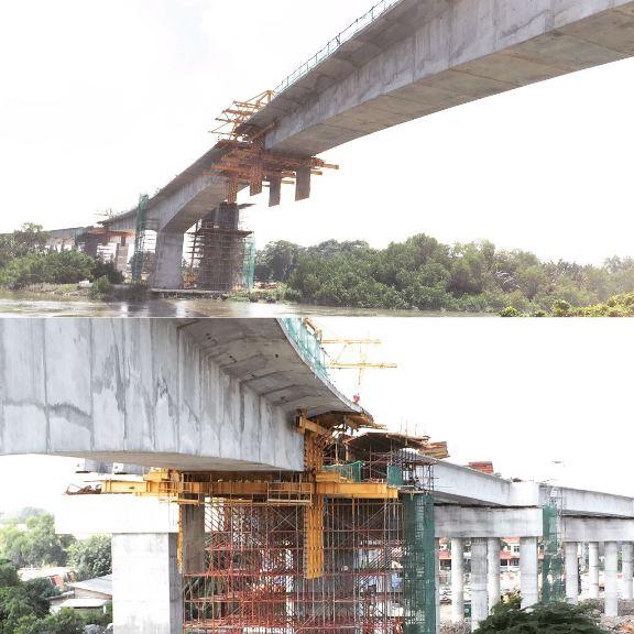 jambatan ke 3 klang dalam pembinaan