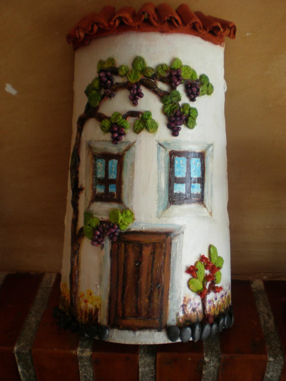 Artedecor tejas decoradas for Fotos de fachadas de casas andaluzas