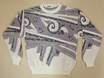 Original 80s Pattern Jumper