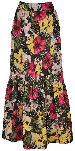 6c05ffc50 A saia longa é uma ótima opção para você compor um look super estiloso.  Colorida, com listras, estampas florais, de onça ou até xadrez, as saias  deixam o ...