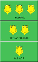 urutan pangkat tentara indonesia