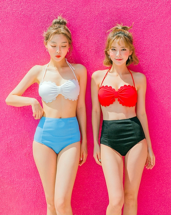 61089d441d Bikinis (swimwear) are popular fashion trend in S.Korea due to recent hot  humid weather. Check out Korea s different style of swimwear for this summer !
