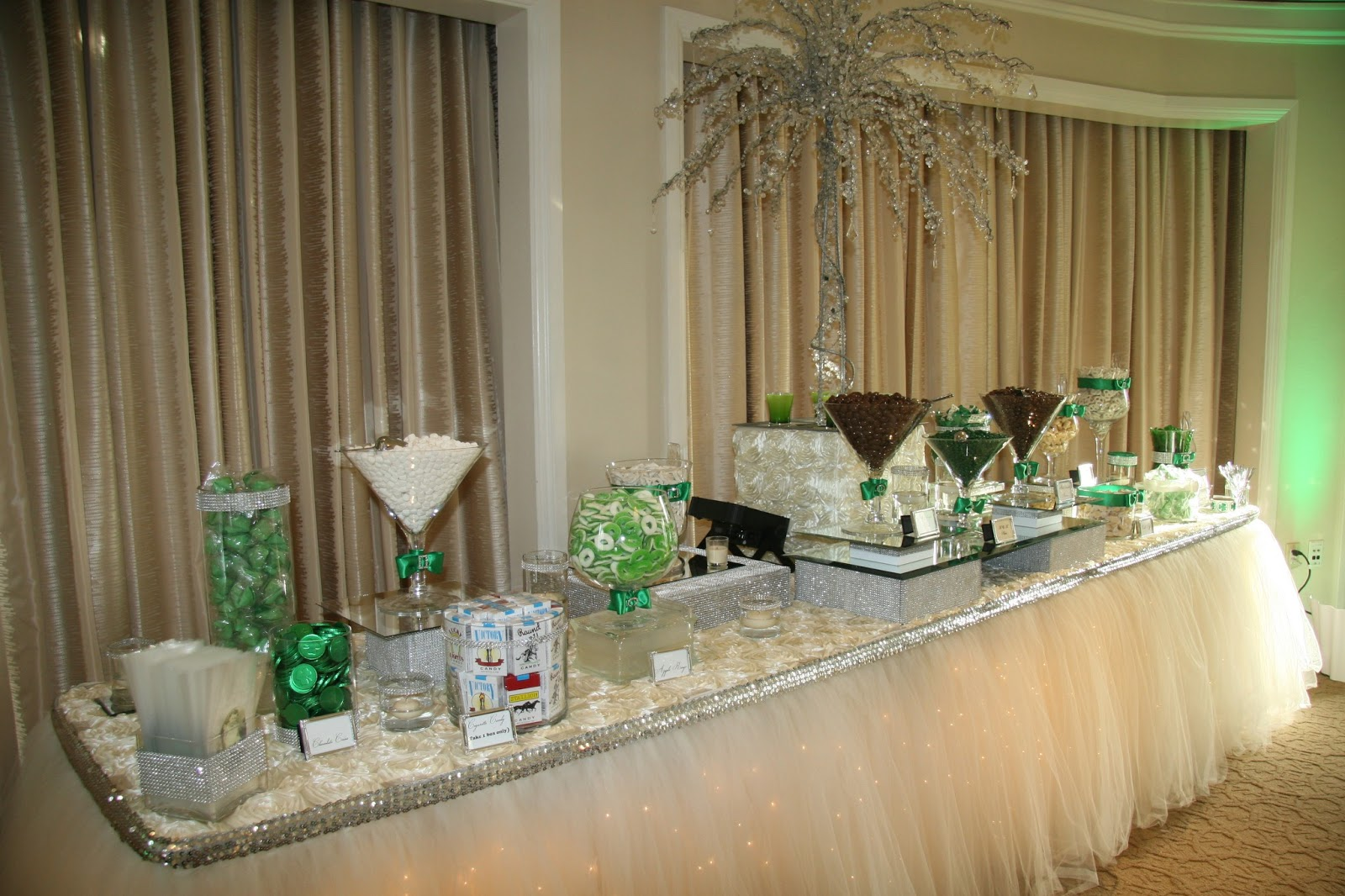 SBD Events  The Event Specialist Our Platinum Candy Buffet Station