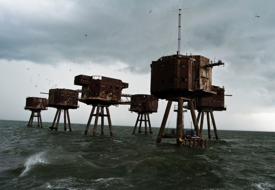 The Maunsell Sea Forts, England - 30 Abandoned Places that Look Truly Beautiful