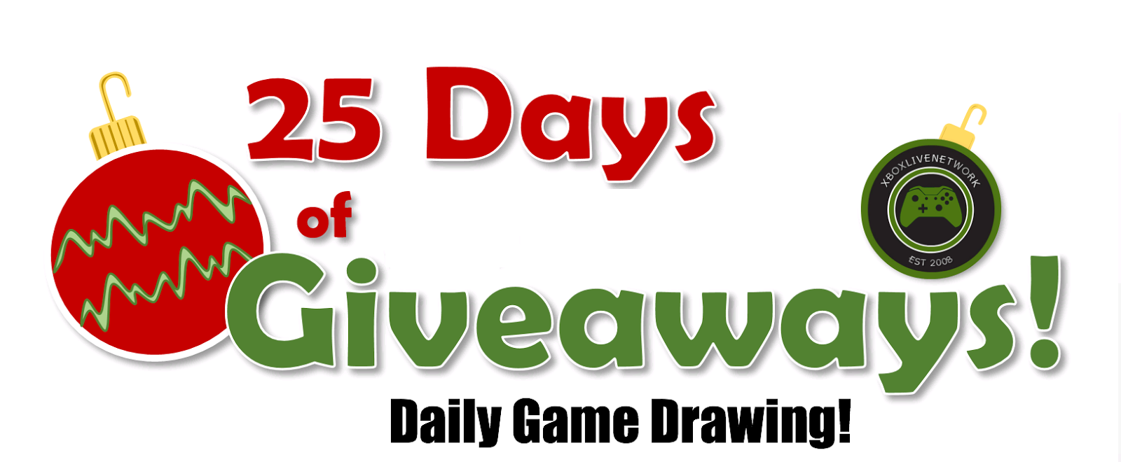 25 days of christmas giveaway xboxlivenetwork by team xbln