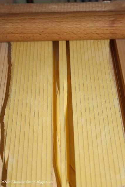 Spaghetti alla chitarra con ragù di lonza