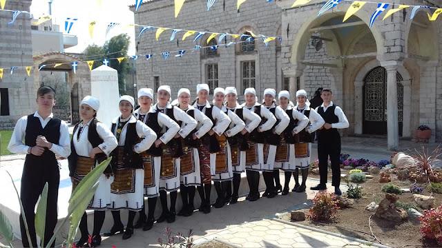 """Εξαιρετική παρουσία της """"Ελληνικής Παράδοσης"""" στην εκδήλωση- αφιέρωμα του Ιερού Ναού Τιμίου Προδρόμου Άργους"""