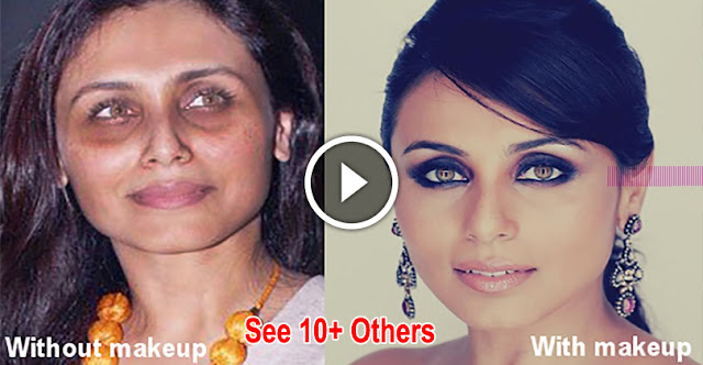 Funny & Shocking Pictures Of Bollywood Celebrities Without Makeup