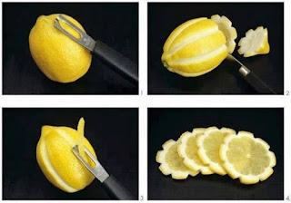 Tips de decoración de tragos con cítricos rodajas originales de limon