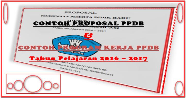 Proposal Penerimaan Peserta Didik Baru Ppdb Lengkap Dengan Program Kerja Ppdb Sd Negeri 1