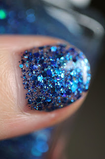 Blue-Eyed Girl Lacquer BEGL Siren's Birthday Sprinkles