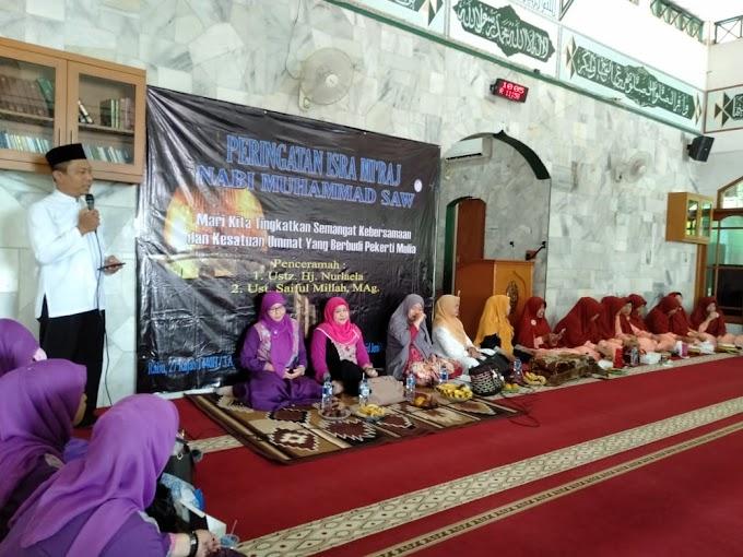 Ratusan Warga Kemiri Jaya Peringati Isra Mi'raj
