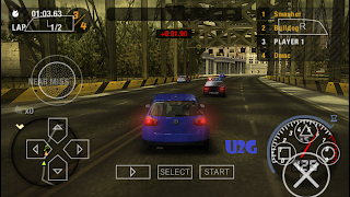 NFS Most Wanted PPSSPP Compressed