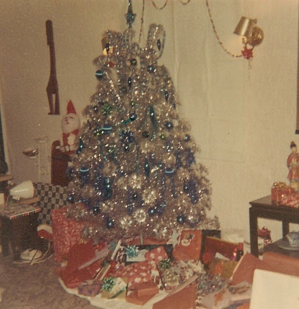 Old Aluminum Christmas Tree