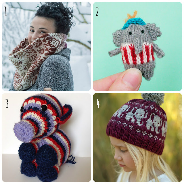 Elephant knitting patterns