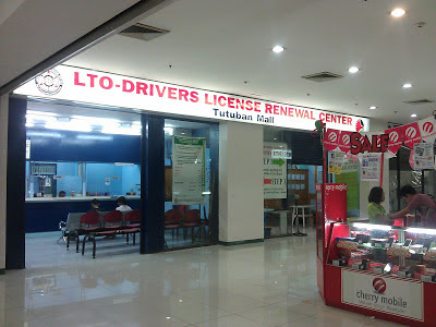 LTO Center at Tutuban Center Mall