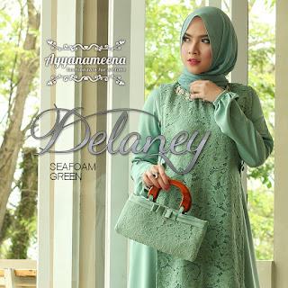 Ayyanameena Delaney Seafoam Green