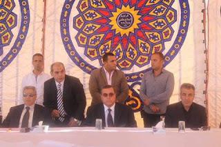 محافظ الفيوم يشهد مراسم الصلح بين عائلتين في دار السلام بمركز طامية