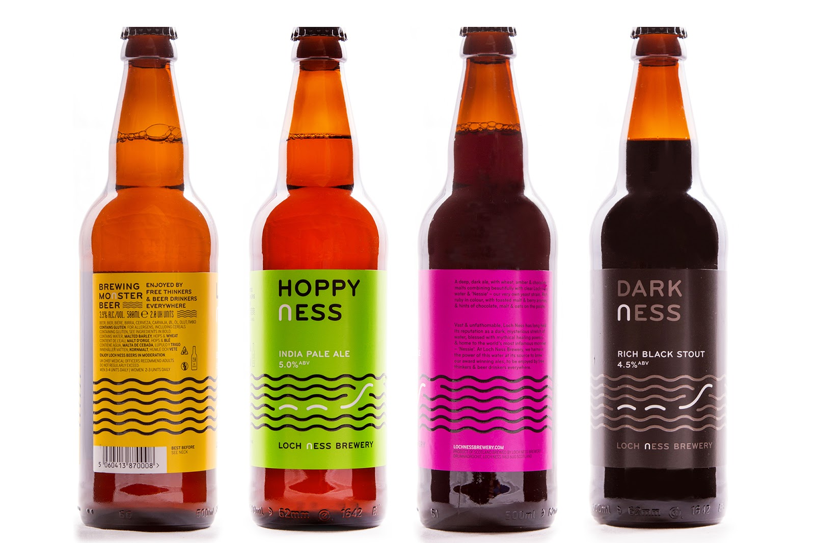 Loch Ness Brewery On Packaging Of The World Creative