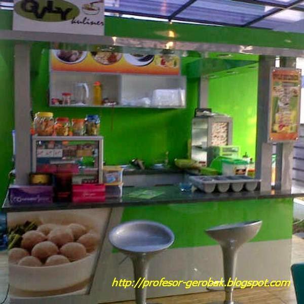 counter bakso
