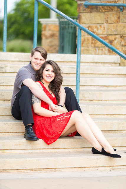 They are getting married in October of 2017.  To celebrate, we went to the Bricktown Canal in Oklahoma City to shoot their engagement pictures.  Their connection made the shoot fun and energetic and magical.