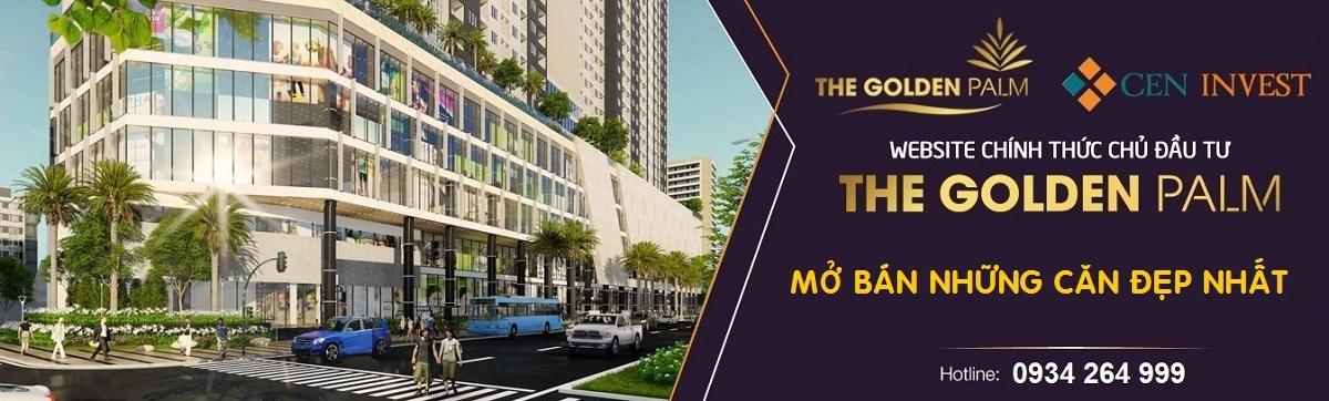 Mở bán những căn đẹp nhất dự án The Golden Palm