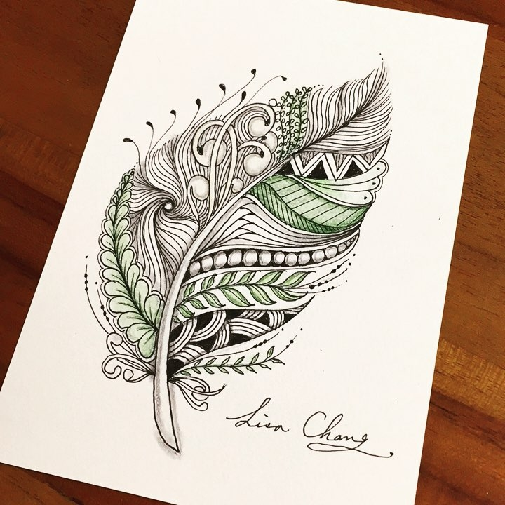 05-Lisa-Chang-Hand-Drawn-Zentangle-Doodle-Drawings-www-designstack-co