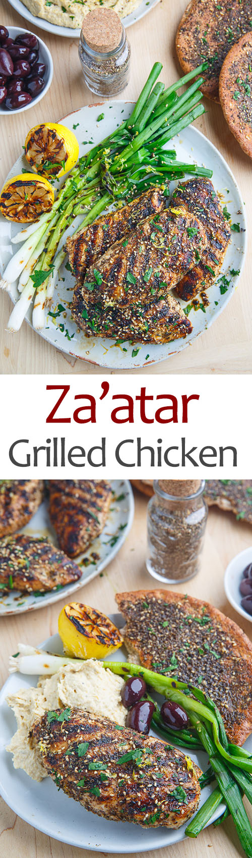Za'atar Grilled Chicken