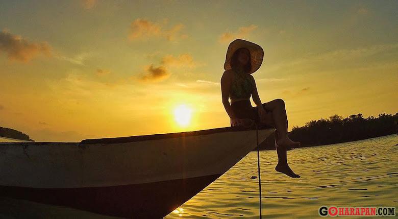 wisata ke pulau harapan tanpa agen wisata
