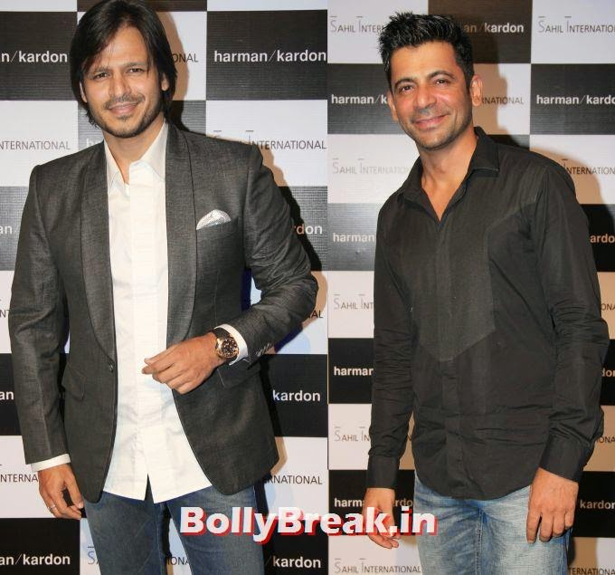 Vivek Oberoi, Sunil Grover, Jacqueline, Shriya, Richa Chadha at luxury brand launch