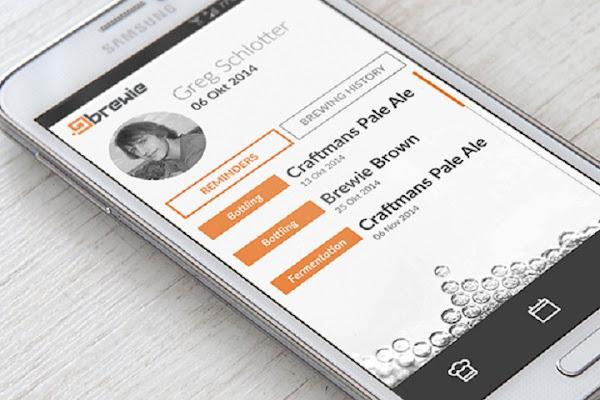 透過手機就可以預定你想要口味的啤酒材料,數位時代翻攝自 Brewie 網站。