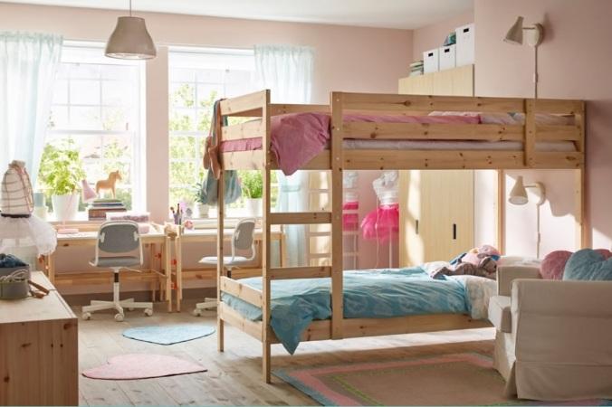 Dormitorios para hermanos low cost