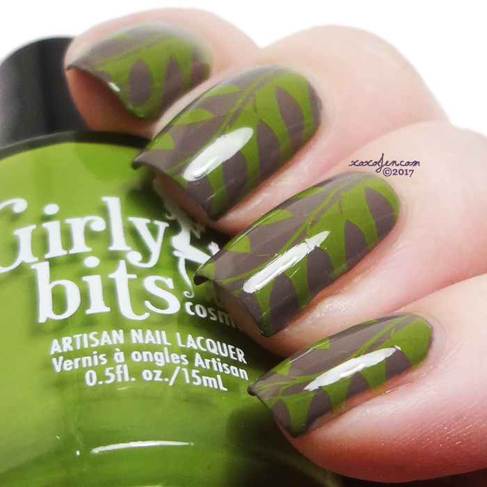 xoxoJen's swatch of Girly Bits Walnuts About You