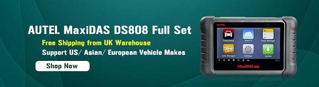 Original Autel MaxiCom MK808 VS MaxiDas DS808