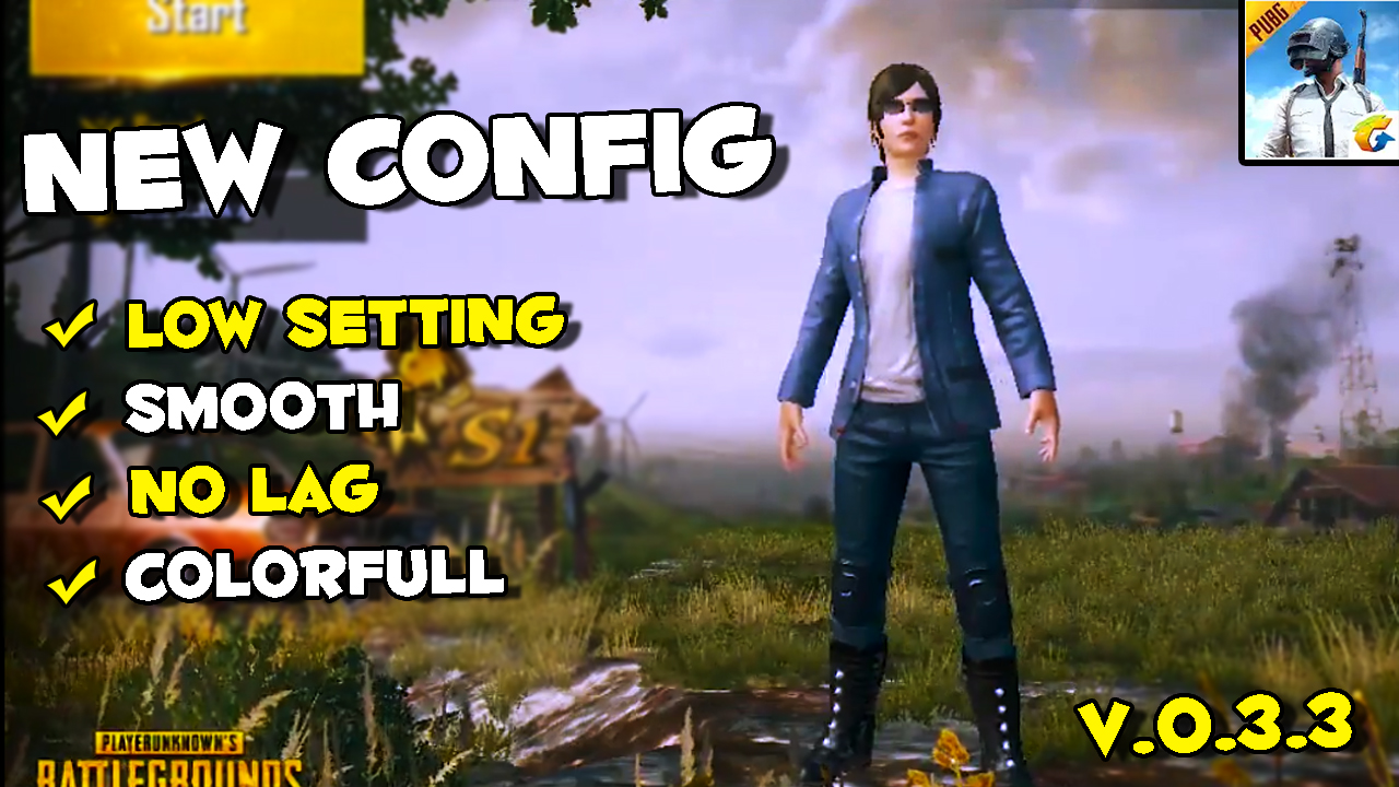 Config Pubg Hdr 0 7 0: PUBG Mobile Low Config Colorfull No Lag