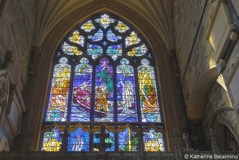 St. Giles' Cathedral Stained Glass Window Things to Do in Edinburgh in 3 Days Itinerary