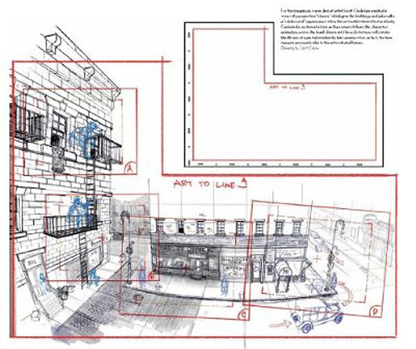Hand Drawn Animation.blogspot on Coffee Shop Design Floor Plan