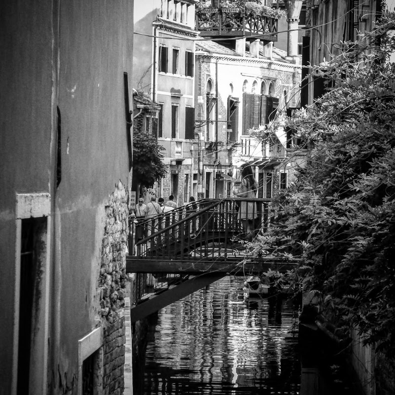 Beautiful Black and White Venice by Michael Hogg