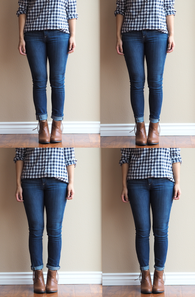 Putting Me Together How To Wear Ankle Boots With Jeans
