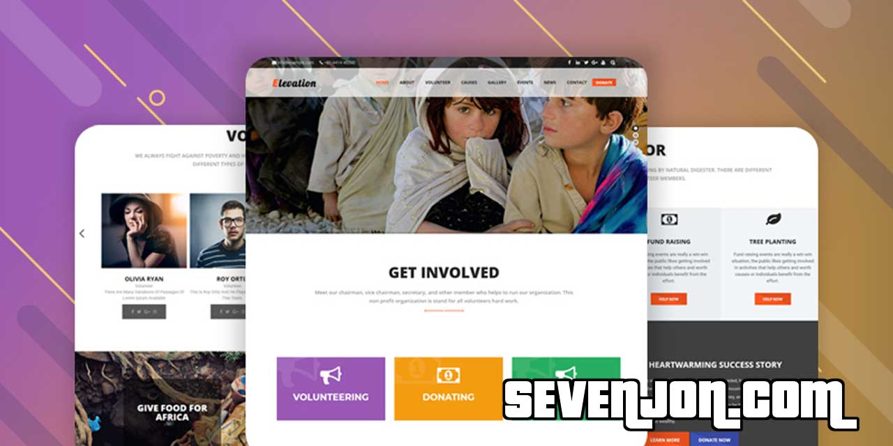 ELEVATION - WordPress Theme