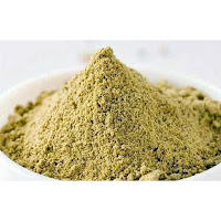 Moringa cake got from the extraction of oil from the seeds and obtained from the cold pressing method.