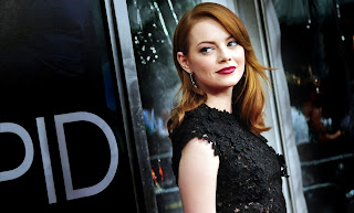 Emma Stone in Black Dress