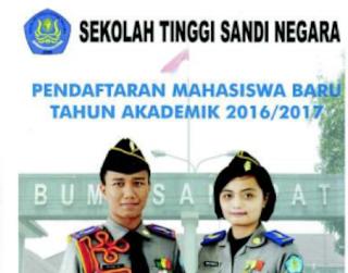 Seleksi Penerimaan Sekolah Tinggi Sandi Negara 2016-2017