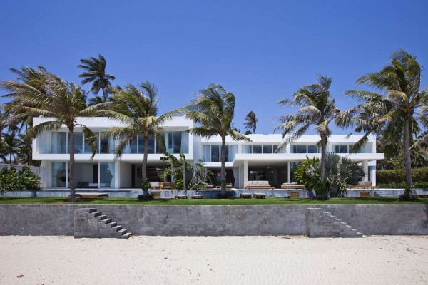 Desain dan Denah Rumah Villa Modern
