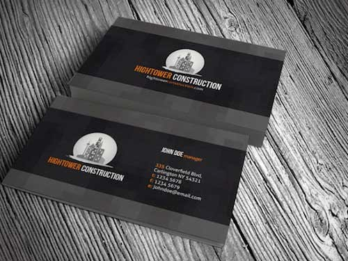 Creative and Elegant Corporate Business Card Template