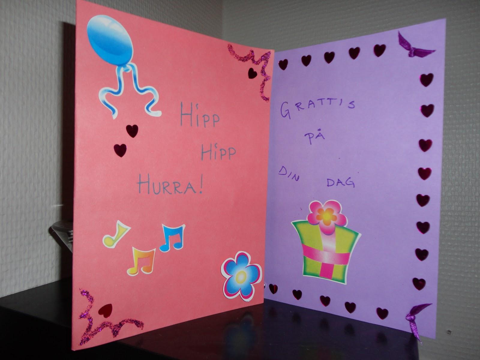 skriva på födelsedagskort OneOfAKind: [Vilken ordning var det nu?] skriva på födelsedagskort