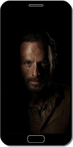 Rick The Walking Dead - Fond d'Écran en QHD pour Mobile